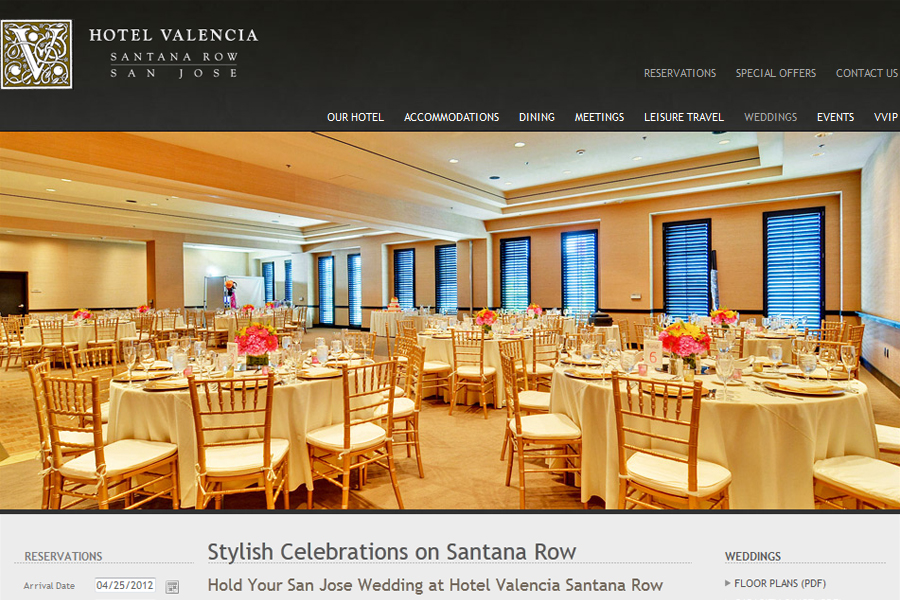 Hotel Valencia Wedding Photographer