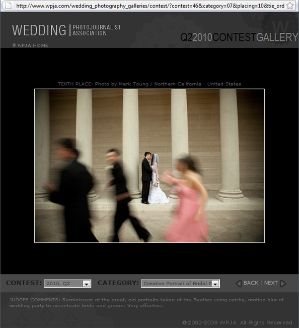 WPJA Award | Memoire Studio Photography