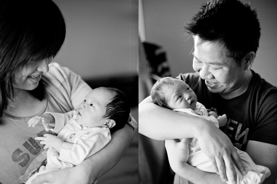 San Jose Newborn Photographer | Baby Elizabeth