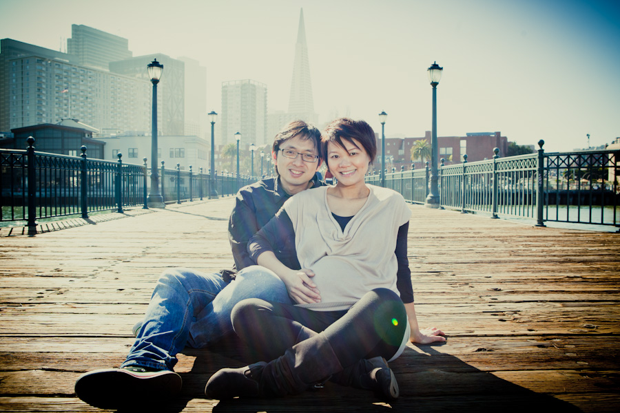 San Francisco Maternity Session Carmen