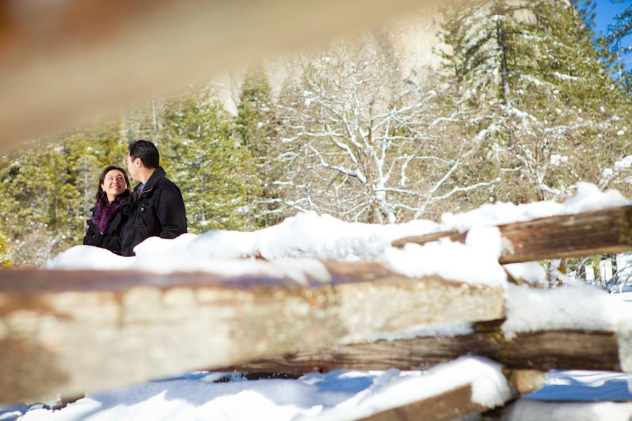 Yosemite National Park Engagement   Samantha & Arthur