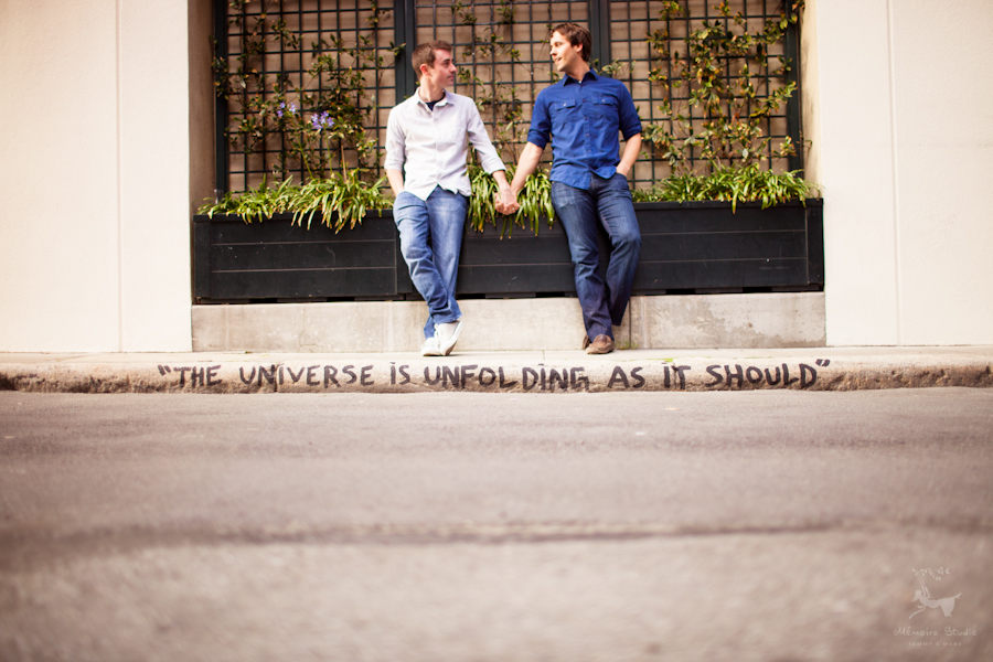 San Francisco Ferry Building Engagement Photographer | Kevin & Tony