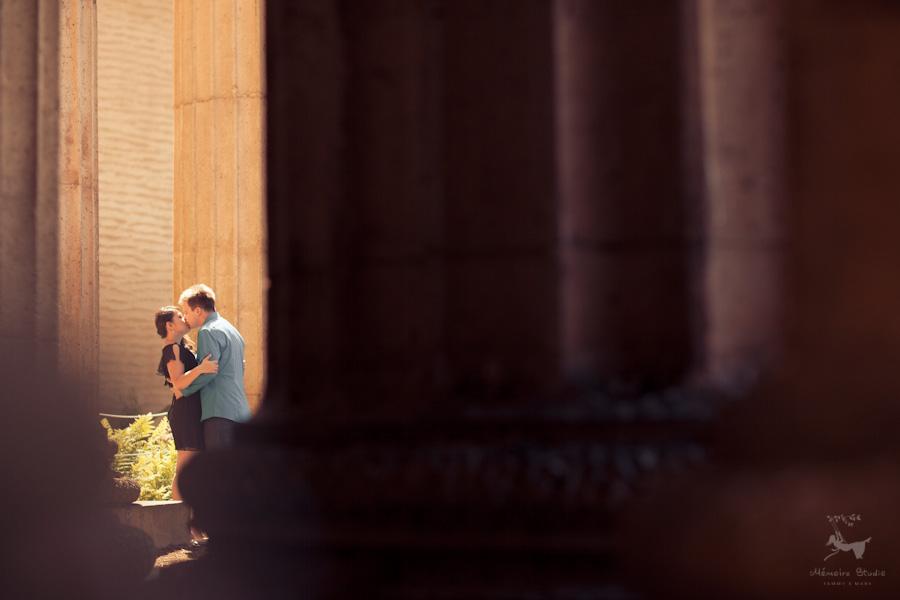 Palace of Fine Arts Engagement Photographer