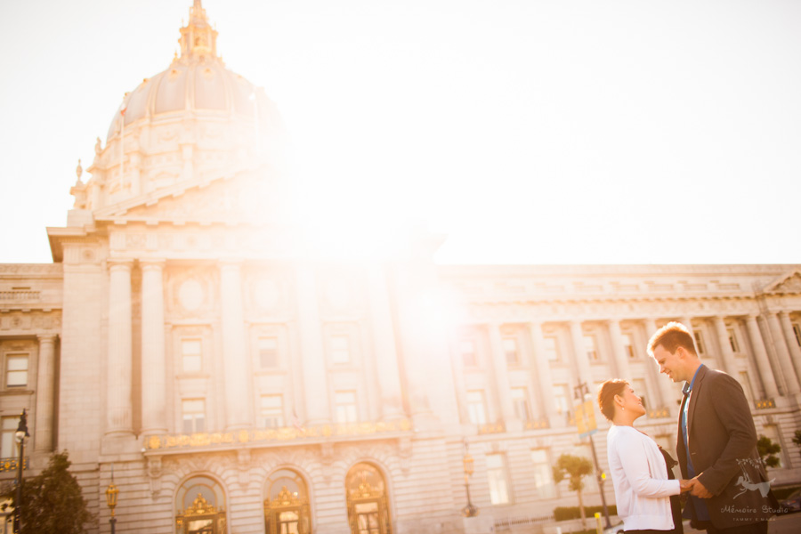 Palace of Fine Arts Engagement Photographer