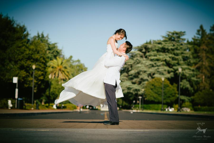 Stanford University Engagement Photographer