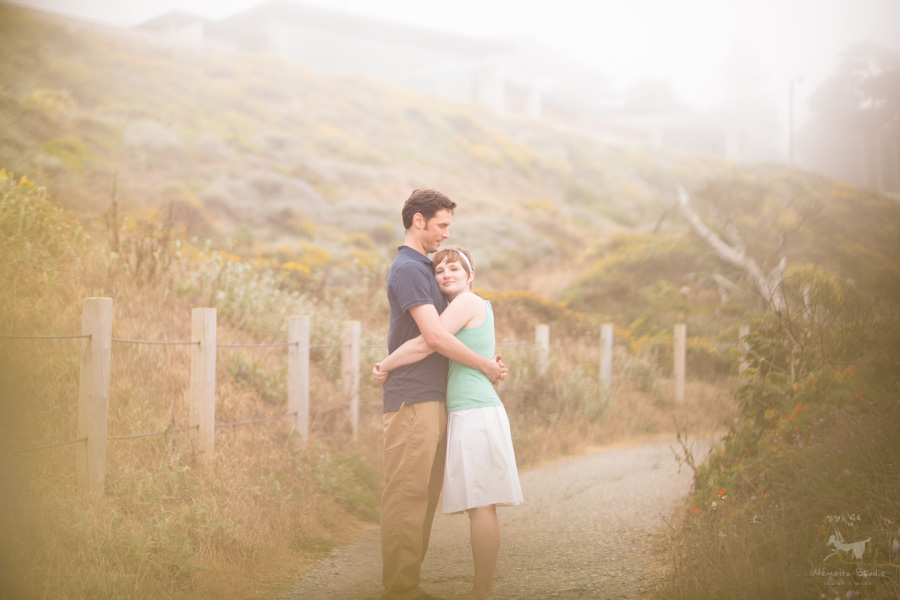 Sutro Bath Engagement Photographer