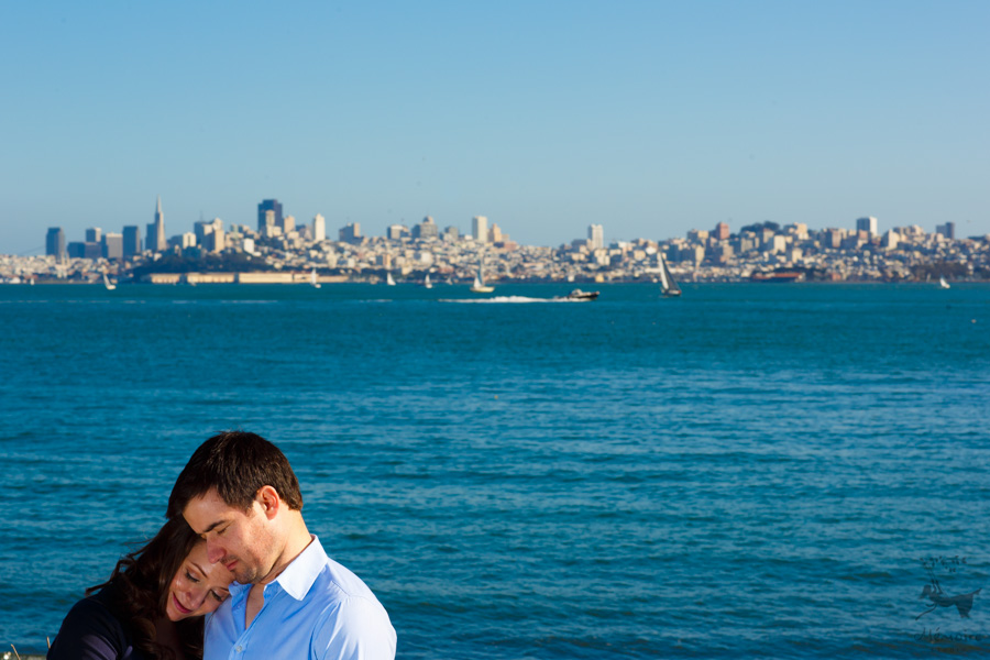 Cavallo Point Engagement photos