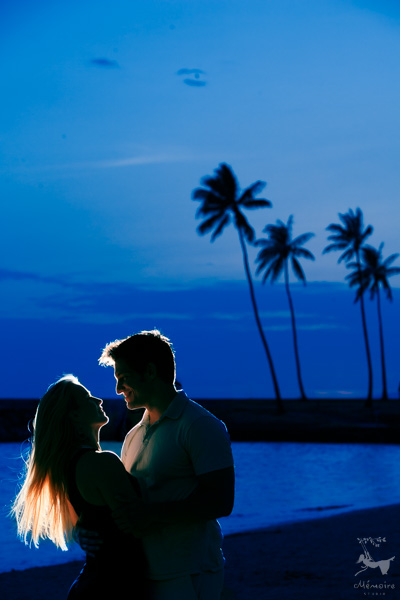Hawaii Waikiki Engagement Session