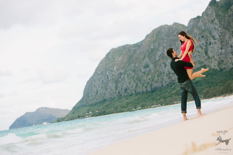 Hawaii Wedding Engagement photographer