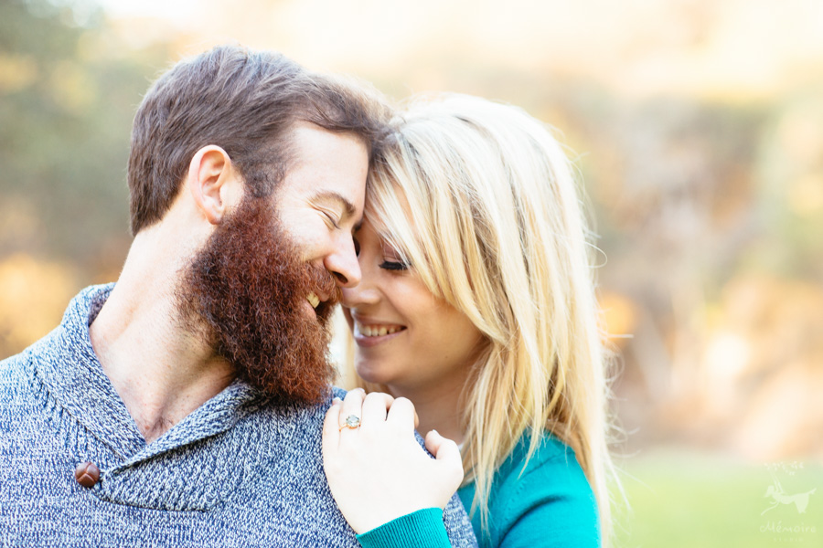 San Francisco Engagement Session at a brickyard
