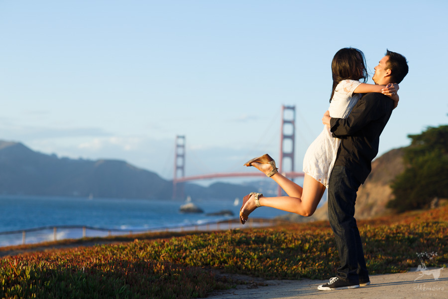 Golden Gate Engagement Session