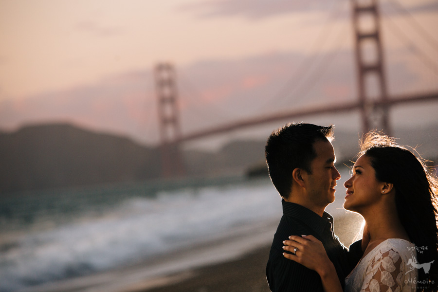 Golden Gate Engagement Session