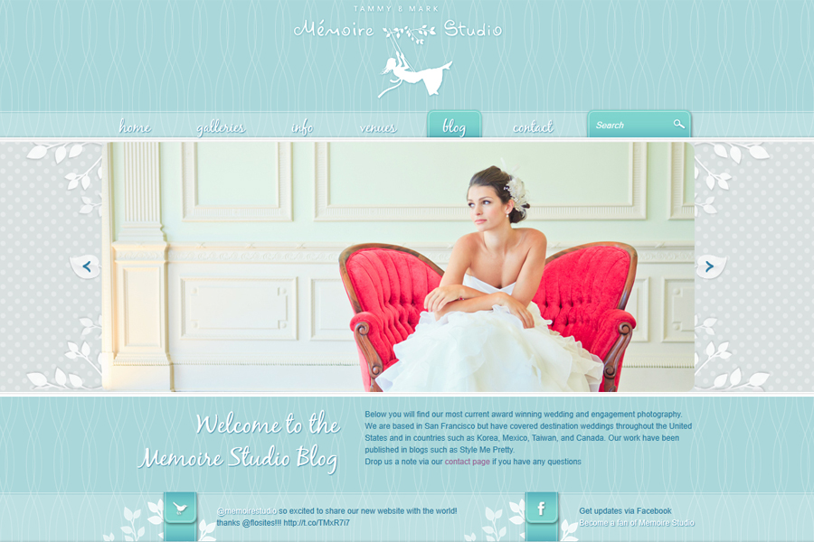 Memoire Studio new website