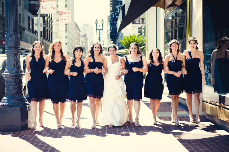 San Francisco, Westin St Francis, Treasure Island Wedding