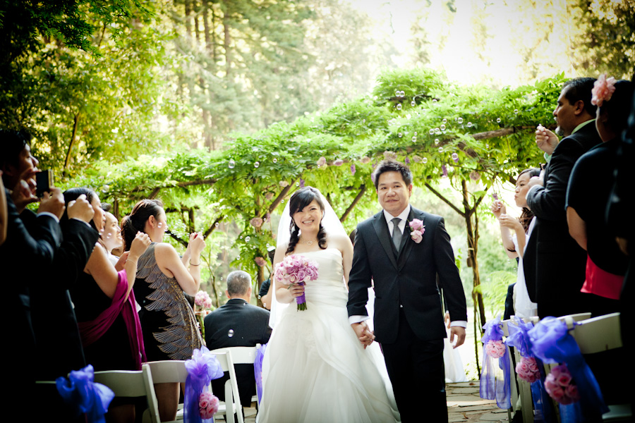 Los Gatos Nestldown Wedding