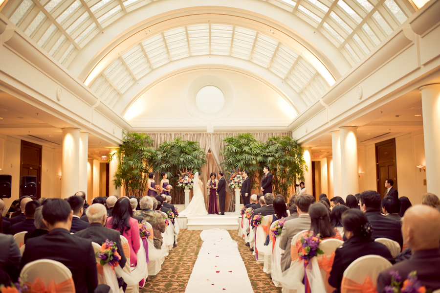 San Francisco Palace Hotel Wedding Photography