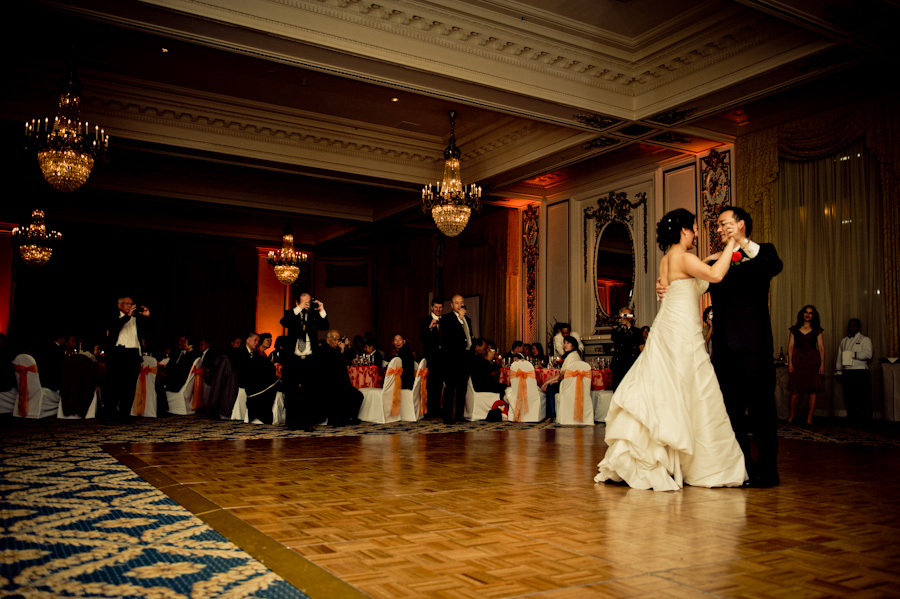 San Francisco Palace Hotel Wedding Photography