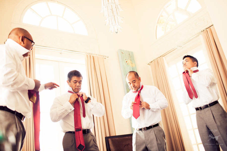 San Diego University Club Wedding