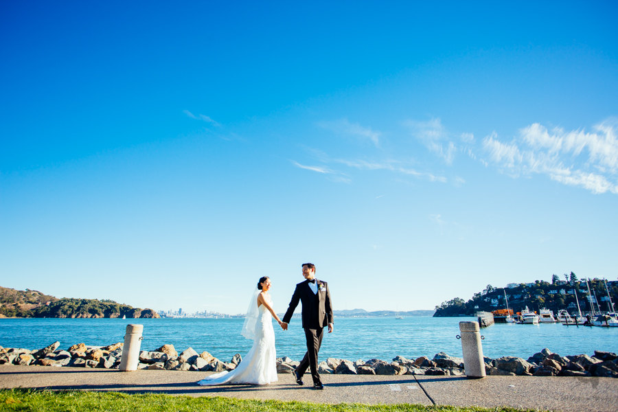 Tiburon Wedding Photos of Angela + Sean