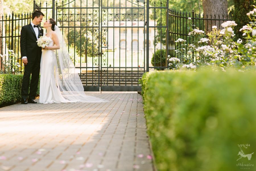 Villa Montalvo Wedding Photos of Jane + Chetan