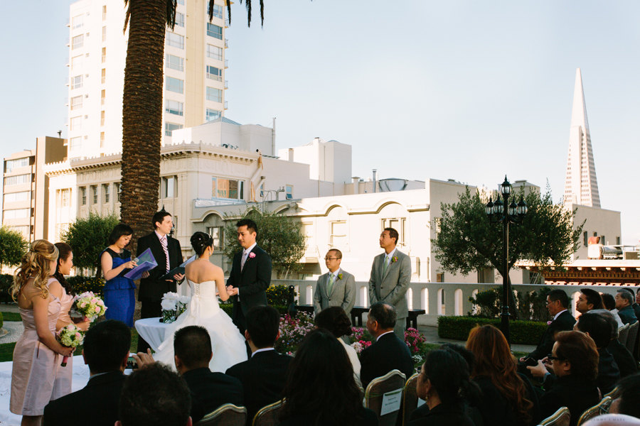 San Francisco Wedding Photos of Trish + Willie
