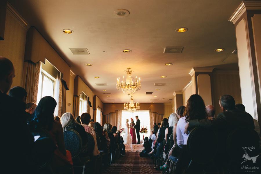 Fairmont San Francisco Wedding Photos of Nawal + Jon