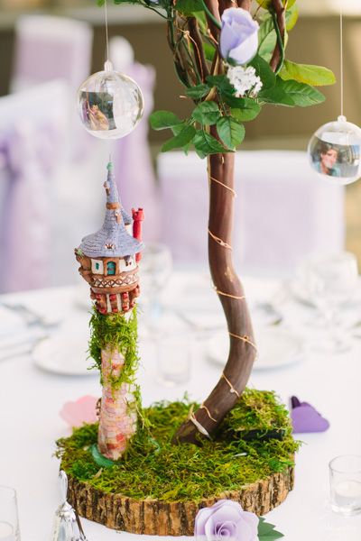 Disney Theme Wedding Photos of Jessie + Adam