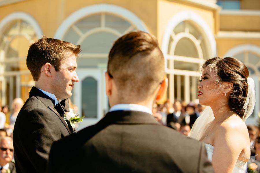 Disney Theme Wedding Photos of Jessie + Adam