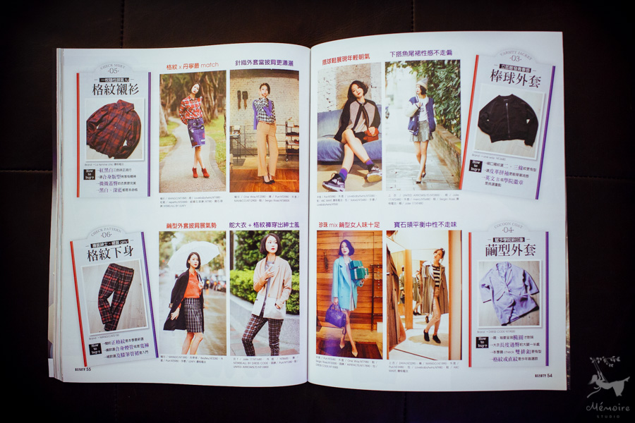 Beauty Magazine Taiwan published San Francisco Fashion photographer