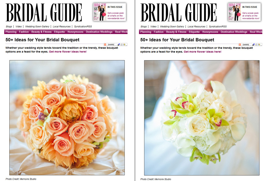 Memoire Studio published on Bridal Guide