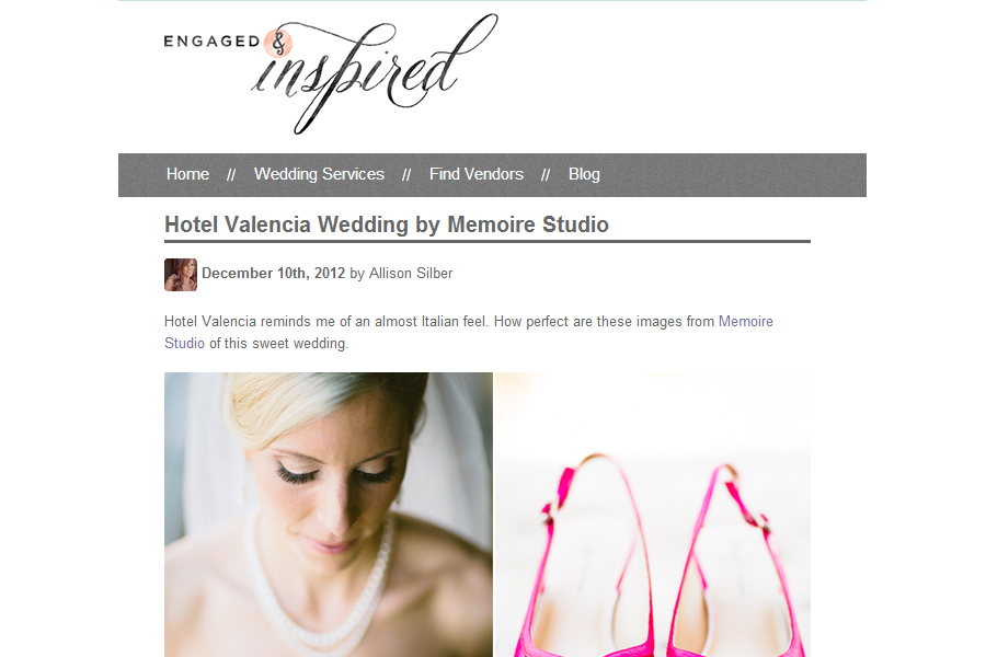 Memoire Studio published on Engaged and Inspired